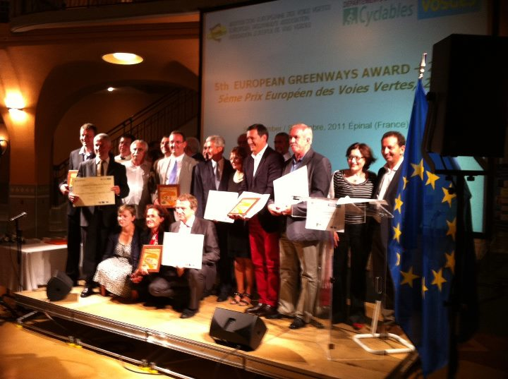 Eco-Counter attends the European Greenway Awards in France