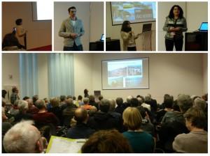 Presenting at Fiets en Wandelbeurs