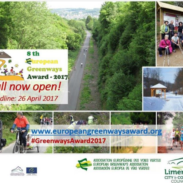 Call for candidacies for the  8 th European Greenways Award 2017