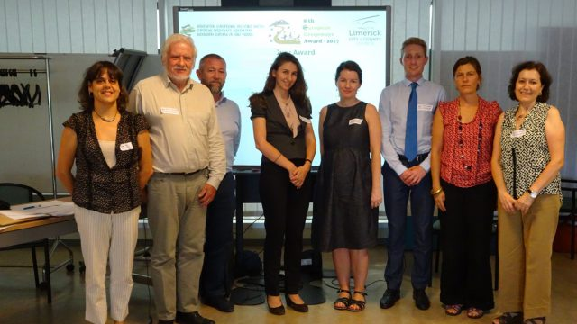 Recent meeting in Brussels of the jury of the 8th European Greenways Award