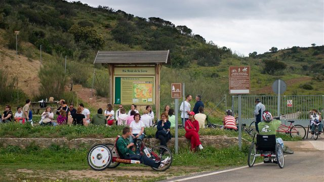 """Local Accessibility Agreement"" for La Sierra Greenway and Ecopista do Dao"