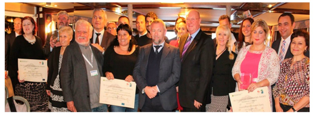 The 7th European Greenways Awards have been given on October 16th 2015 during the official ceremony in Namur (Belgium)