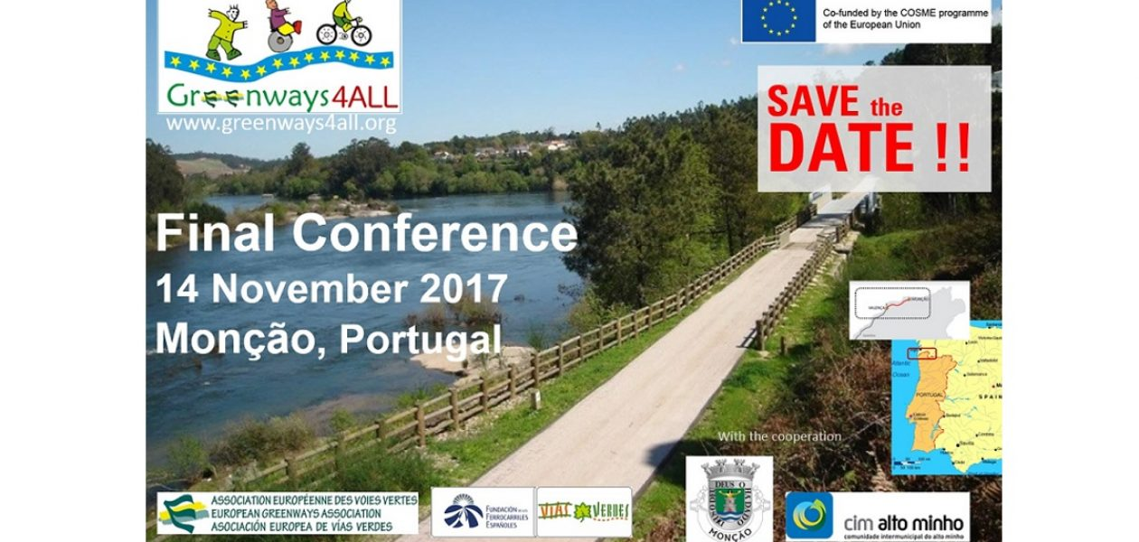 """Greenways4ALL Final Conference in Portugal"