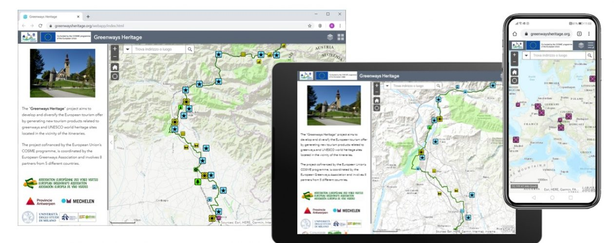 Find out the main results of the Greenways Heritage project