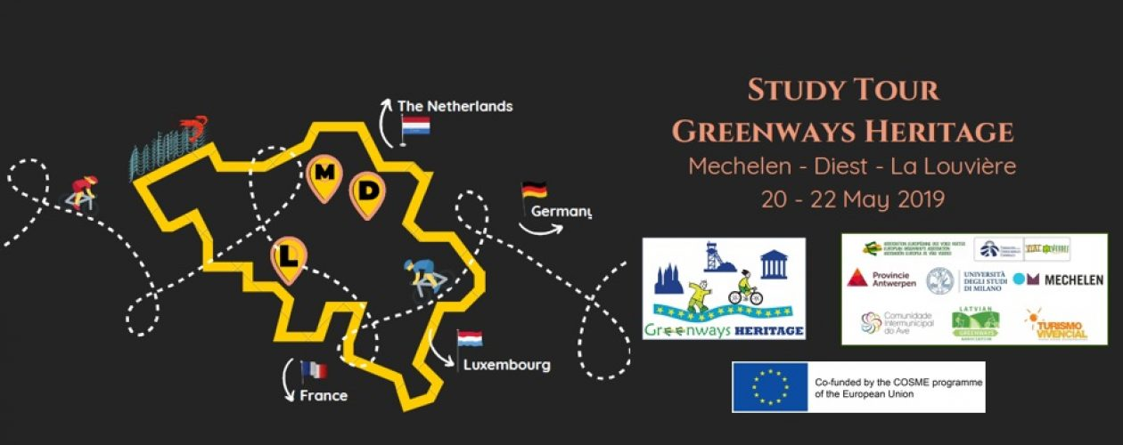 Greenways Heritage Study Tour in Flanders and Wallonia
