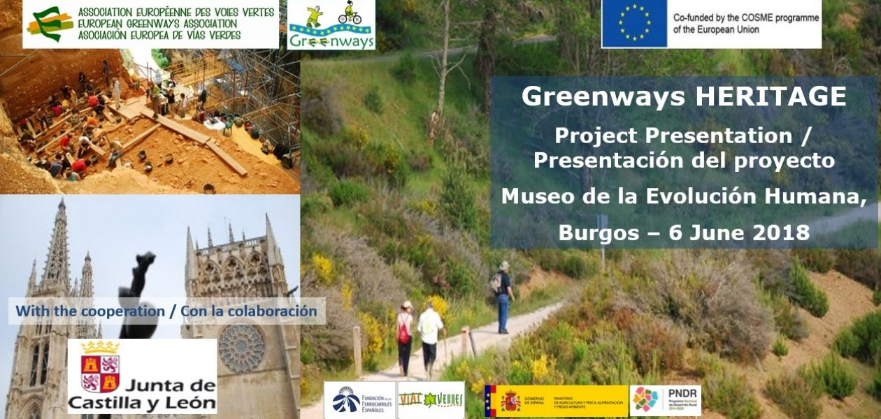 Launching of the european project Greenways HERITAGE in Burgos