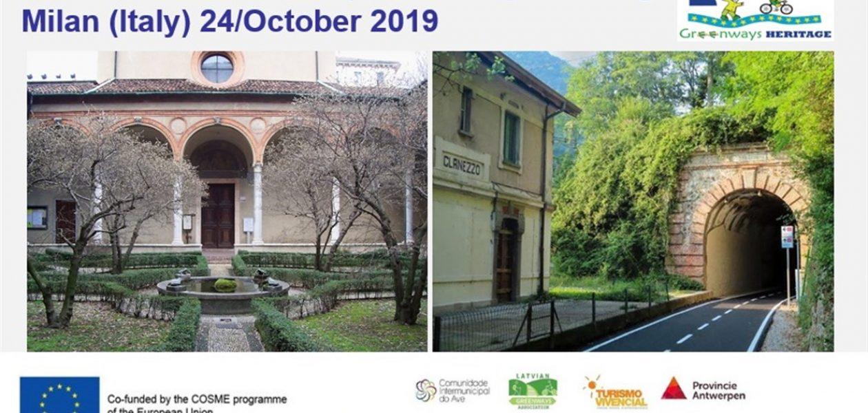 International Workshop Greenways Heritage in Milan
