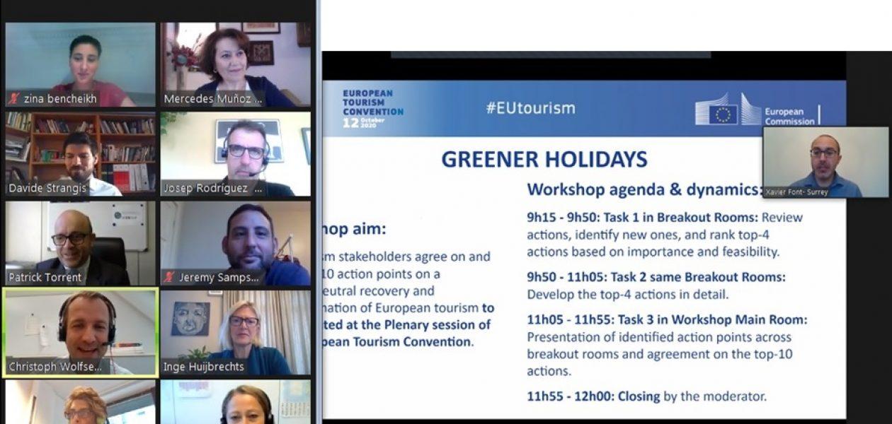 EU tourism recovery: priorities and funding