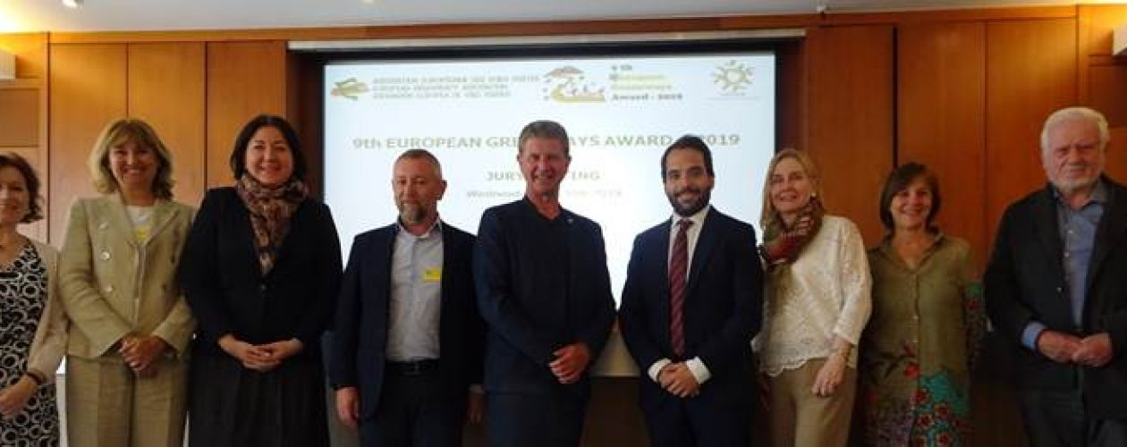 Meeting in Brussels of the jury of the 9th European Greenways Award