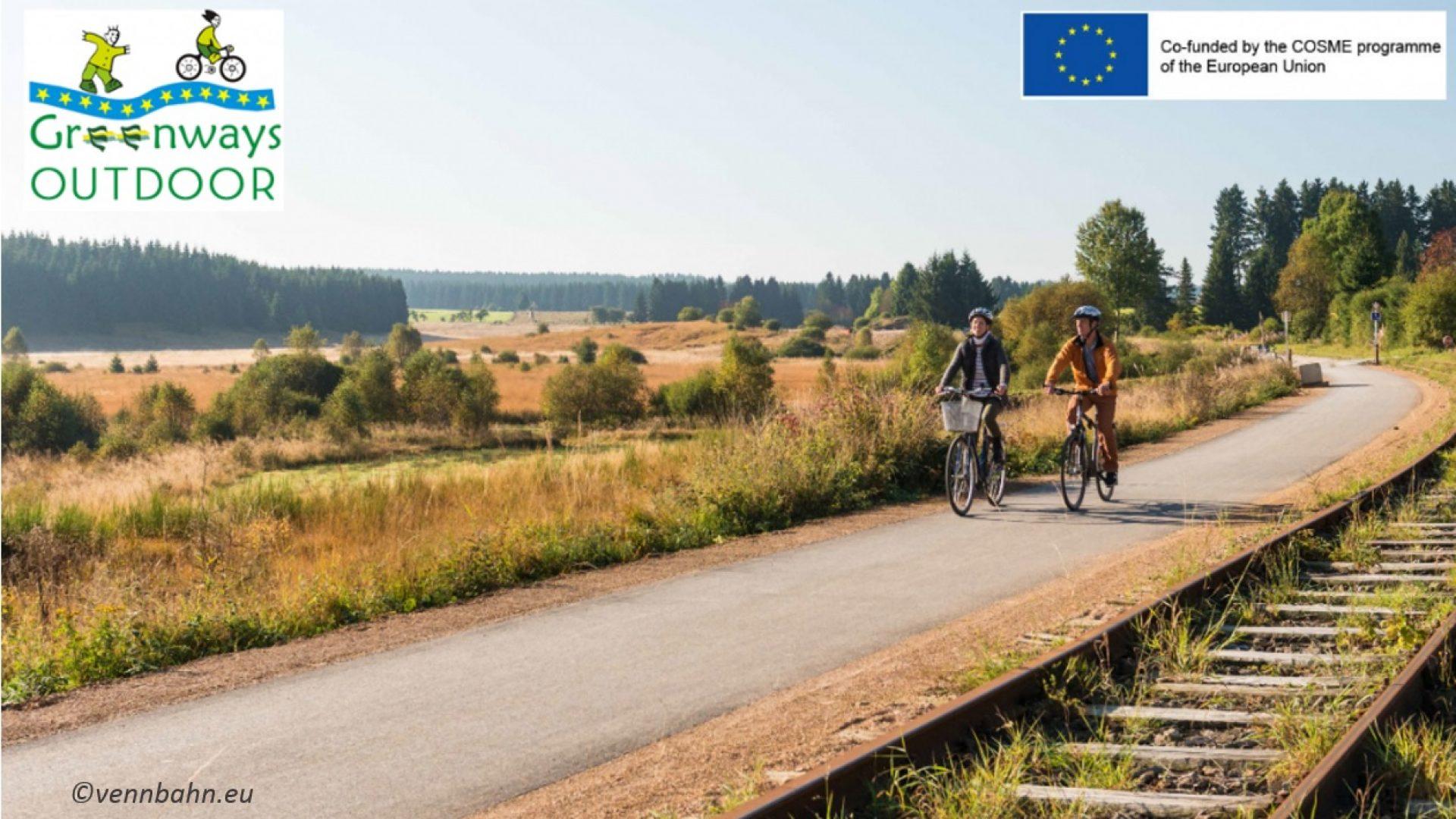 """""""Vías verdes Outdoor"""" para la creación y promoción de producto turístico de aire libre vinculado a las Vías Verdes europeas."""