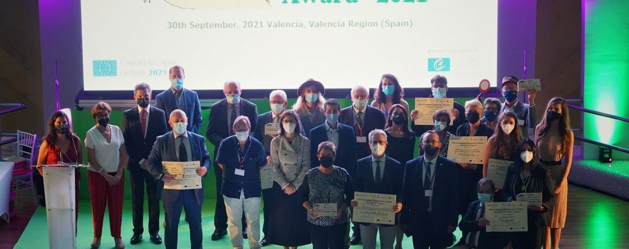 The 10th European Greenways Awards have been given